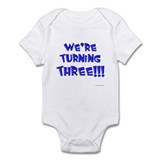 Cool Twin birthday Infant Bodysuit