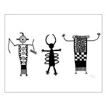 Petroglyph Peoples II Small Poster
