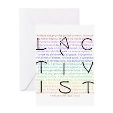 Lactivist Greeting Card
