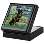 Bridge / Rottie Keepsake Box