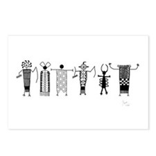 Group of Petroglyph Peoples Postcards (Package of