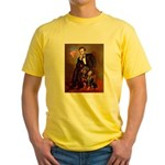 Lincoln's Rottweiler Yellow T-Shirt