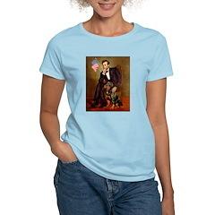 Lincoln's Rottweiler Women's Light T-Shirt