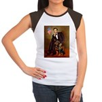 Lincoln's Rottweiler Women's Cap Sleeve T-Shirt