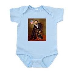 Lincoln's Rottweiler Infant Bodysuit