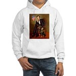Lincoln's Rottweiler Hooded Sweatshirt