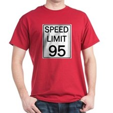 Speed Limit 95 Shirts and Gif T-Shirt