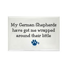 Wrapped Around Their Paws (German Shepherd) Rectan