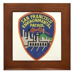 SF Environmental Patrol Framed Tile