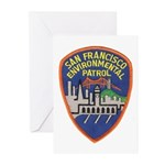 SF Environmental Patrol Greeting Cards (Pk of 20)