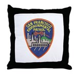 SF Environmental Patrol Throw Pillow