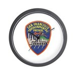 SF Environmental Patrol Wall Clock
