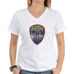 SF Environmental Patrol Women's V-Neck T-Shirt