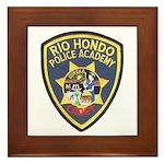 Rio Hondo Police Academy Framed Tile