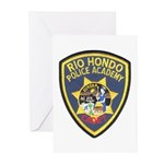 Rio Hondo Police Academy Greeting Cards (Pk of 20)