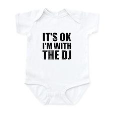 It's Ok, I'm With The DJ Onesie