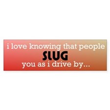 slug bug Bumper Bumper Sticker