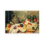 Cezanne Rectangle Magnet