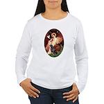 Angel #1/Rottweiler Women's Long Sleeve T-Shirt