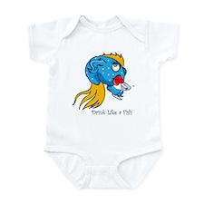 Like a Fish Blue Infant Bodysuit