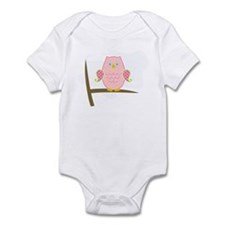 Owl (pink) Infant Bodysuit