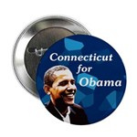 Ten Discount Connecticut for Obama buttons