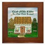 Welcome to Our New Home! Framed Tile