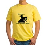 Reining is a numbers game Yellow T-Shirt