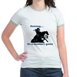 Reining is a numbers game Jr. Ringer T-Shirt