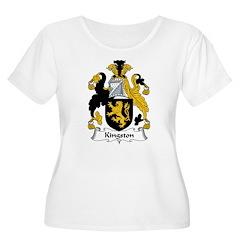 Kingston Family Crest Women's Plus Size Scoop Neck