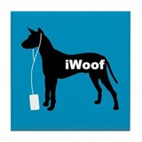 iWoof Xolo Tile Coaster