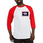 Wyoming State Flag Baseball Jersey