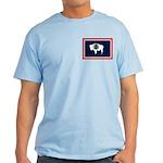 Wyoming State Flag Light T-Shirt