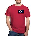 Wyoming State Flag Dark T-Shirt