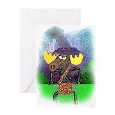 Cavemoose Greeting Card