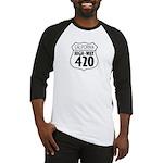 California High-Way 420 Baseball Jersey