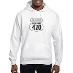 California High-Way 420 Hooded Sweatshirt