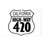 California High-Way 420 Postcards (Package of 8)