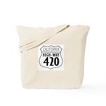 California High-Way 420 Tote Bag