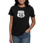 California High-Way 420 Women's Dark T-Shirt