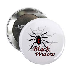 "Black Widow 2.25"" Button (10 pack)"