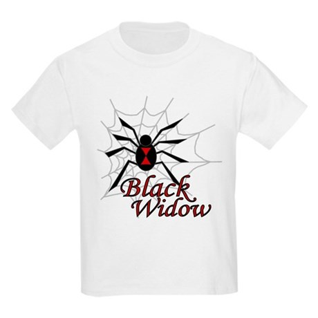 Black Widow Kids Light T-Shirt