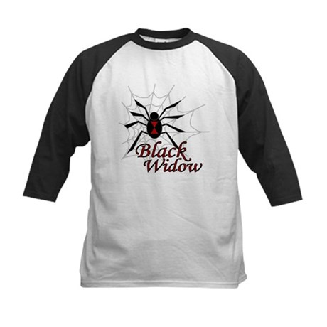 Black Widow Kids Baseball Jersey