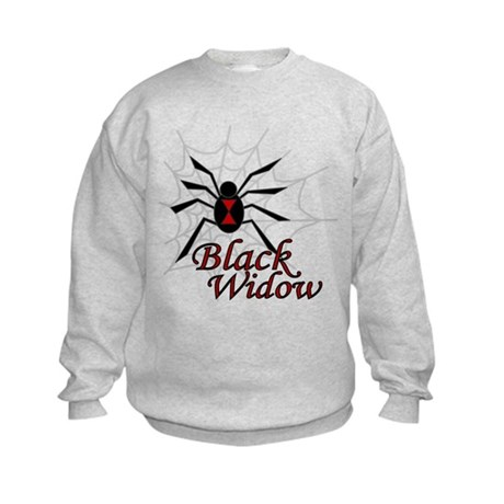 Black Widow Kids Sweatshirt