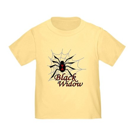 Black Widow Toddler T-Shirt