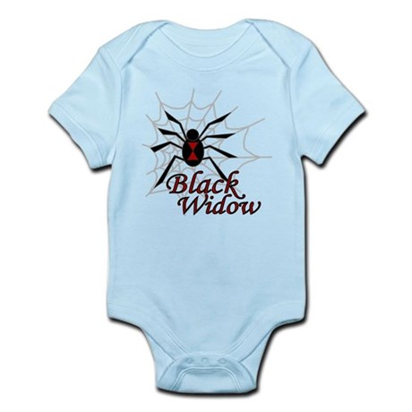 Black Widow Infant Bodysuit