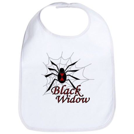 Black Widow Bib
