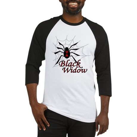 Black Widow Baseball Jersey
