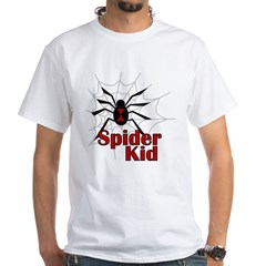 Spider Kid White T-Shirt