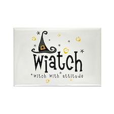 """Wiatch"" [black] Rectangle Magnet"
